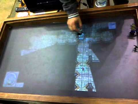 RPG Multitouch Gaming Table