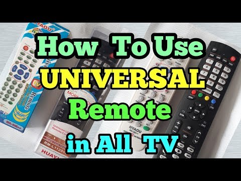 Universal Remote For Led TV || Crt Tv || All TV Codes || Led Tv Repair