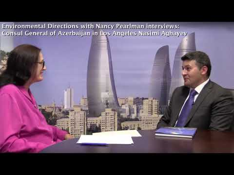 Radio interview with Consul General of Azerbaijan, Nasimi Aghayev