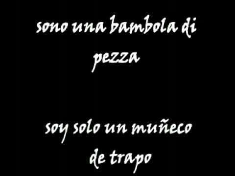 letra italiano: