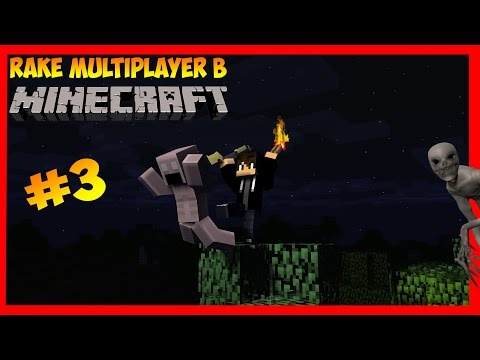 СКИНУЛ РЕЙКА! | Rake Multiplayer в Minecraft #3