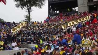 "Southern University Human Jukebox ""B*tch Better Have My Money"" @ UGA 2015"