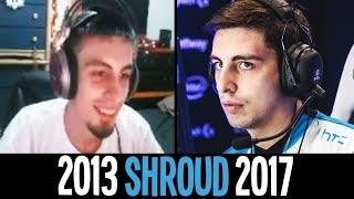 The Evolution Of SHROUD - CS:GO