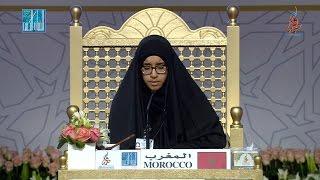 01- الأولى في مسابقة أحسن الأصوات: ايمان الزواتني - المغرب   IMANE EZOUATNI - MOROCCO