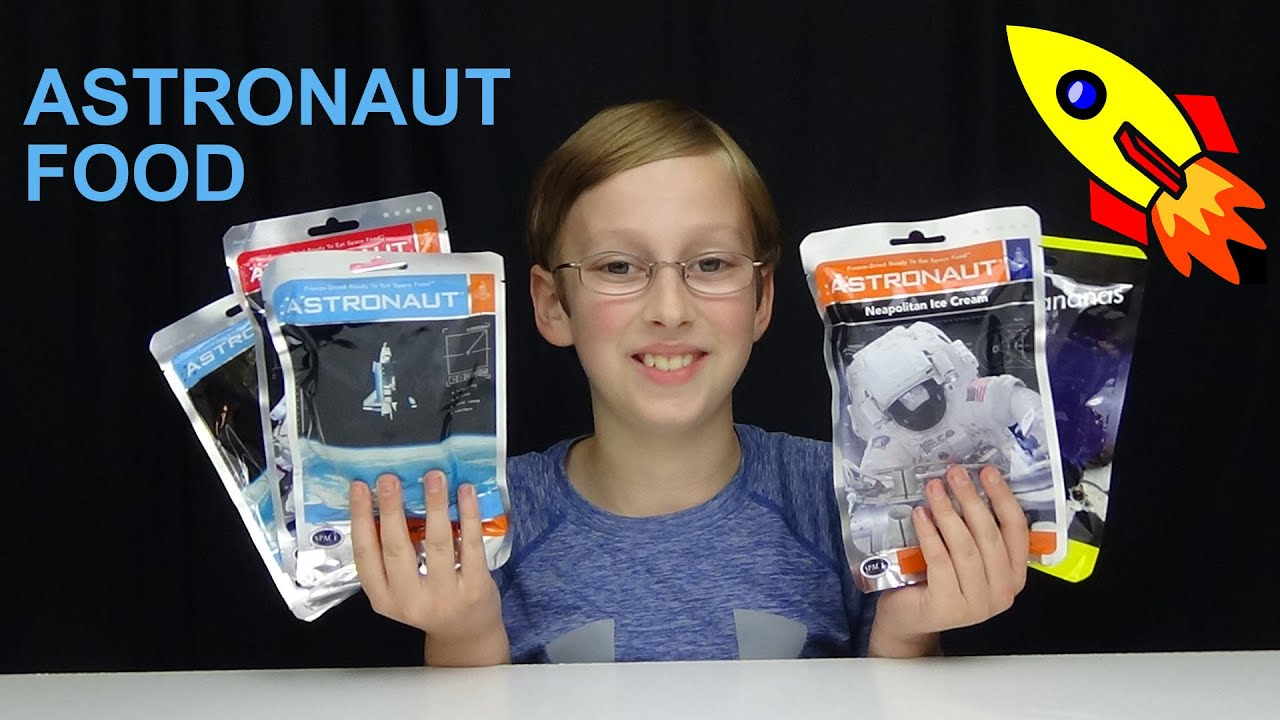 ASTRONAUT SPACE FOOD TASTE TEST | COLLINTV - YouTube