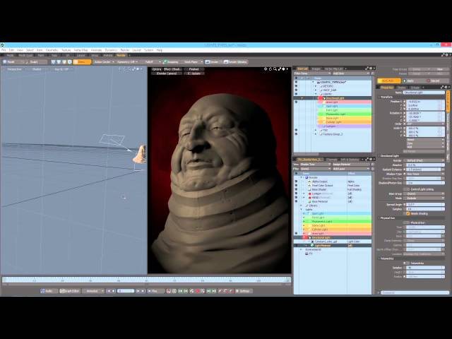 Introduction to rendering (2/3) - Getting started in MODO