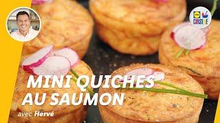 Mini quiches au saumon | Lidl Cuisine