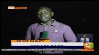 Angry voters burn ballot papers in Kirinyaga County