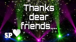 Thanks to all friends keep wathing....2018
