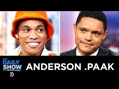 """Anderson .Paak – """"Oxnard"""" & The Brandon Anderson Foundation 