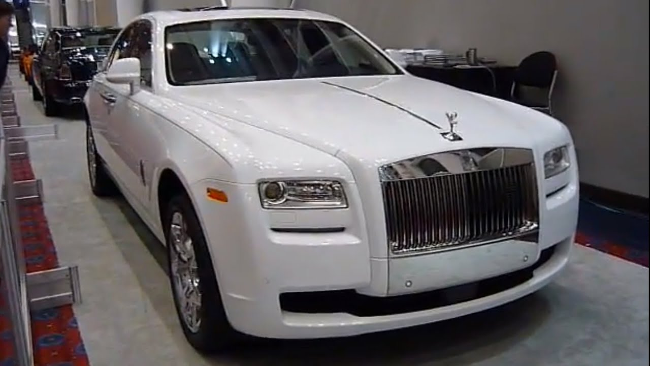 Rolls Royce Ghost Sedan White Portland Auto Show Youtube