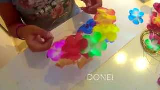 Diy Flower Crown | Crafting Passion
