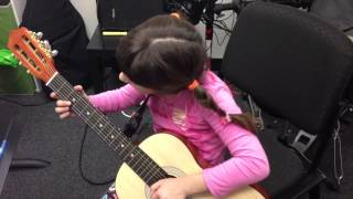 Nicole Vasilev performing Peaches and diesel by Eric Clapton