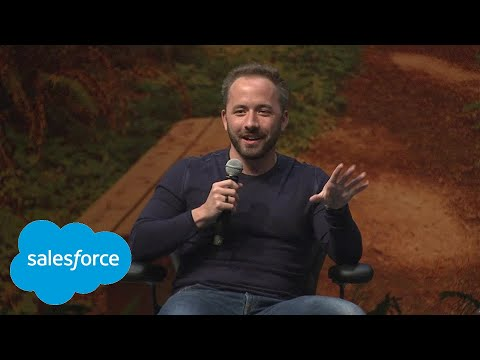 Fireside Chat with Drew Houston and Marc Benioff