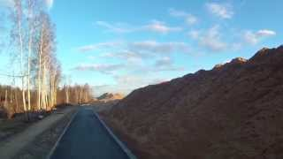 видео доставка песка на дачу