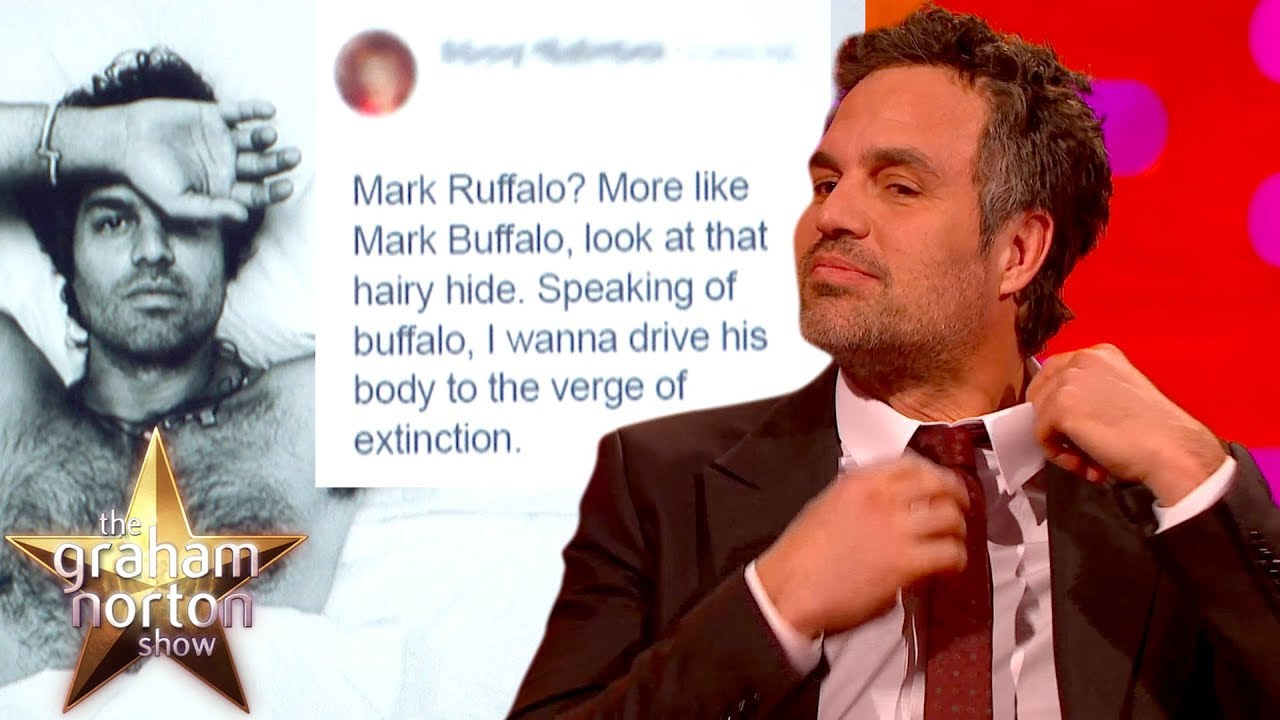 Mark Ruffalo LOVES His Fans Comments On His Topless Picture | The Graham Norton Show