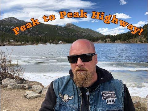 MotoVlog - Peak to Peak Highway
