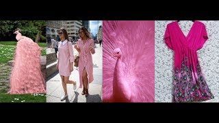 Fashion Color Trends 2019, Pink Peacock Outfit Ideas LOOKBOOK