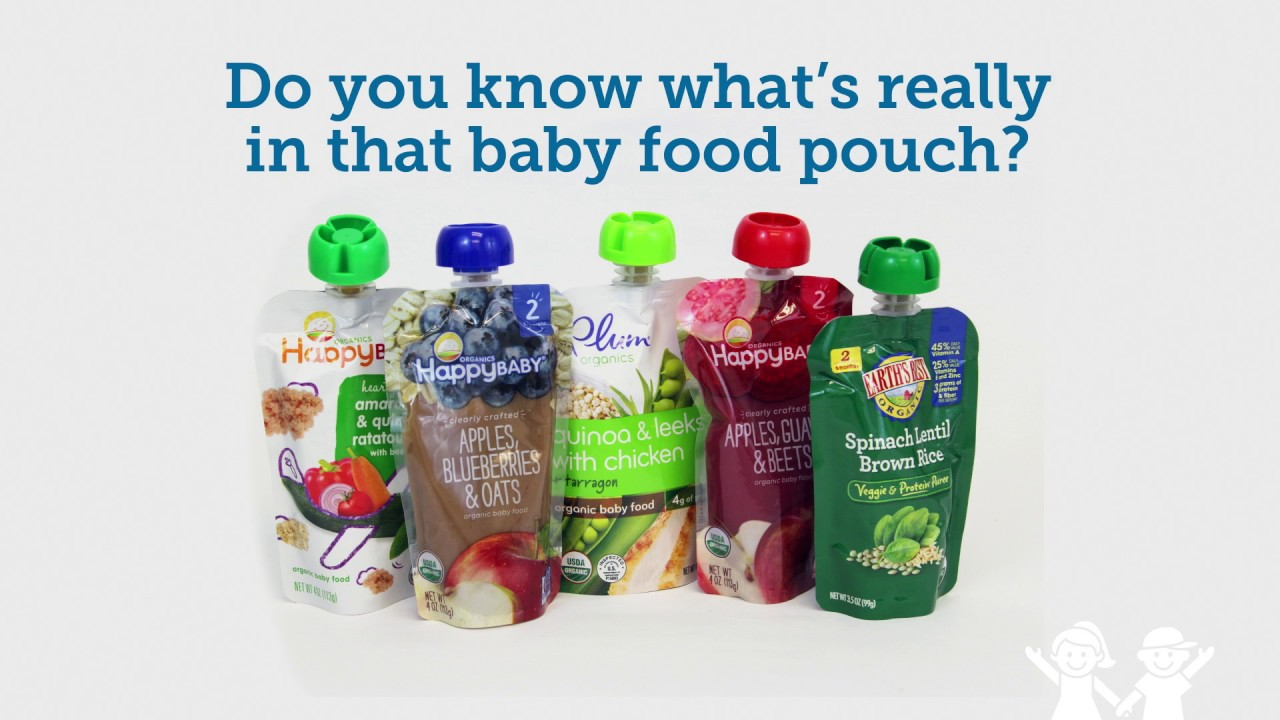 Baby Food Pouches Healthy Or Harmful