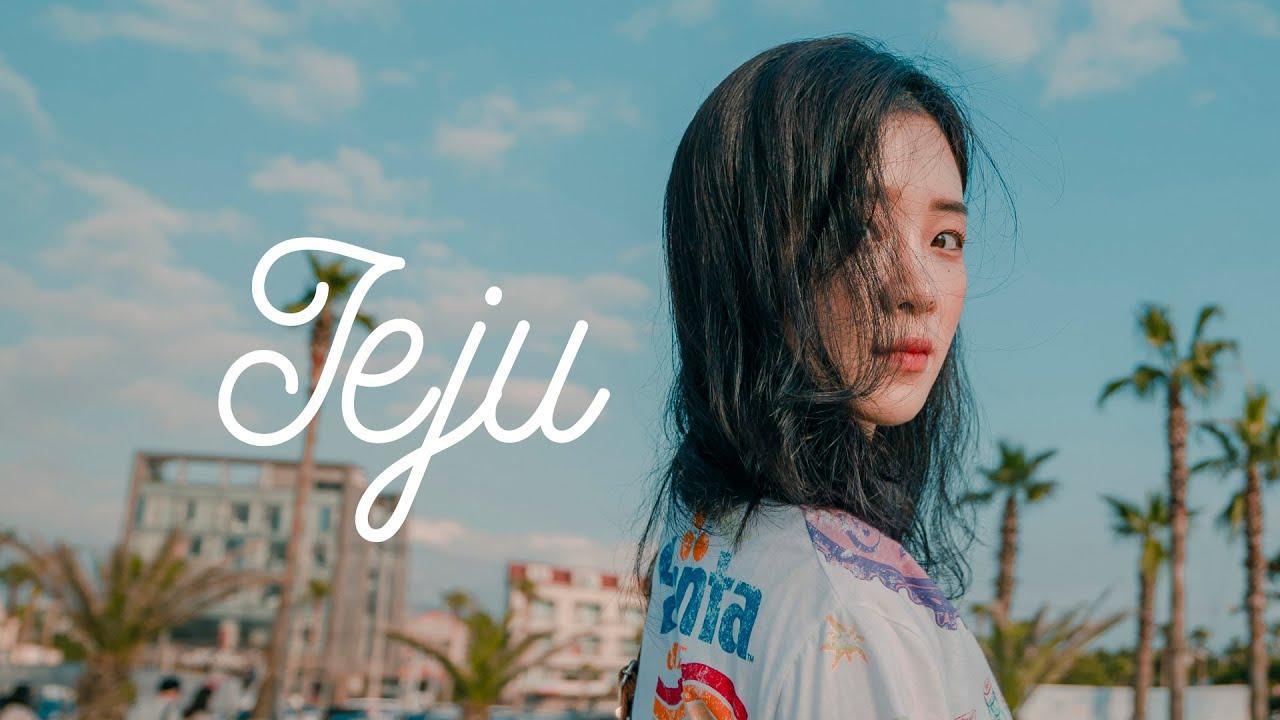 [트래블로그] 7월의 감성 제주여행 (feat.드론 항공촬영) ㅣ Travel in Jeju Island with Girlfriend ( feat.Drone )
