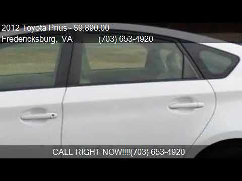2012 Toyota Prius One Two Three Four Five For Sale In Freder Youtube