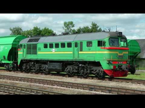 Latvian Railway 2013 Part 1