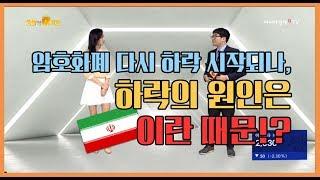오늘의코인 185회 (180511) 암호화폐 다시 하락 시작되나? 원인은 이란??