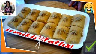 İrmikli Kesme Tatlısı Tarifi Nasıl yapılır Sibelin mutfağı ile yemek tarifleri