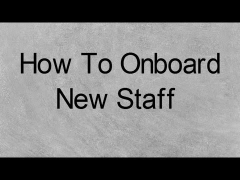 How to Onboard New Staff From Finish Line Staffing