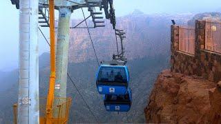مدينة أبها تلفريك الجبل الأخضر أبو خيال Saudiarabia Youtube