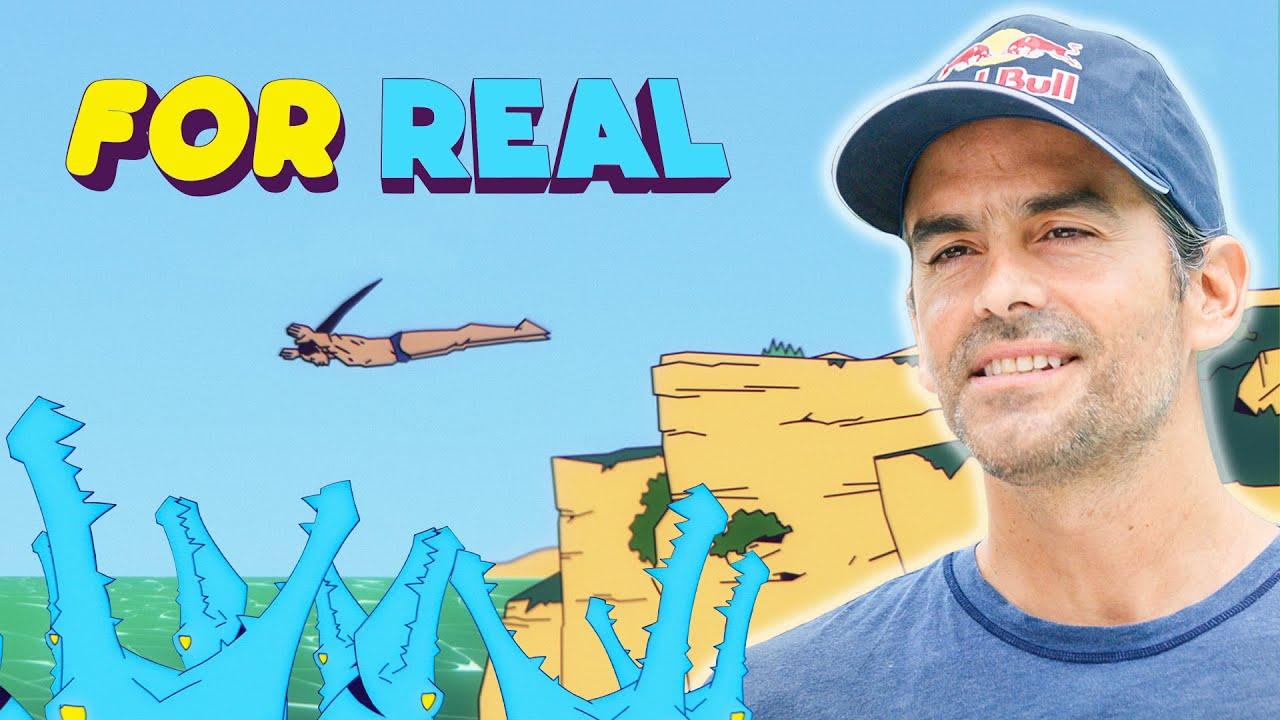 Cliff Diving Into Crocodile Infested Rivers | Red Bull For Real