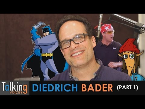 Talking Voices  Diedrich Bader Part 1
