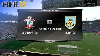 FIFA 17 - Southampton vs. Burnley FC @ St. Mary's Stadium