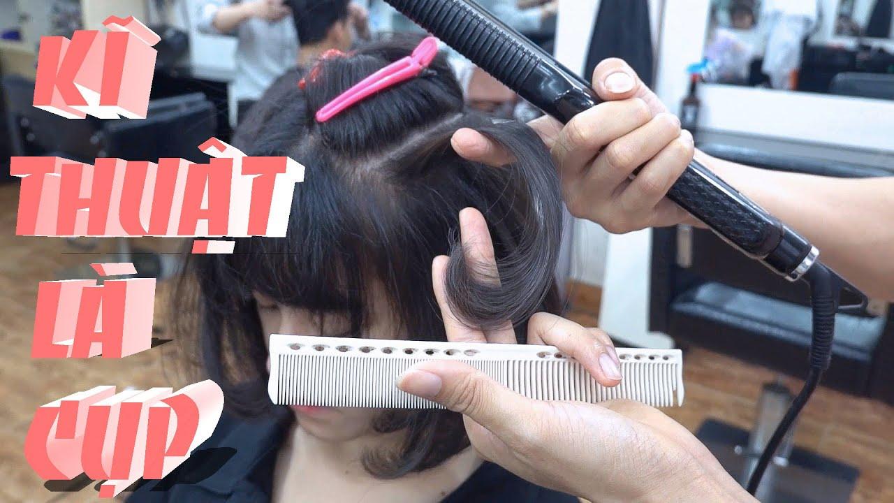 hướng dẫn ép cụp, kĩ thuật là cho tóc cúp mềm mượt và trơn bóng. | Tổng quát các kiến thức liên quan đến ép cụp đầy đủ nhất