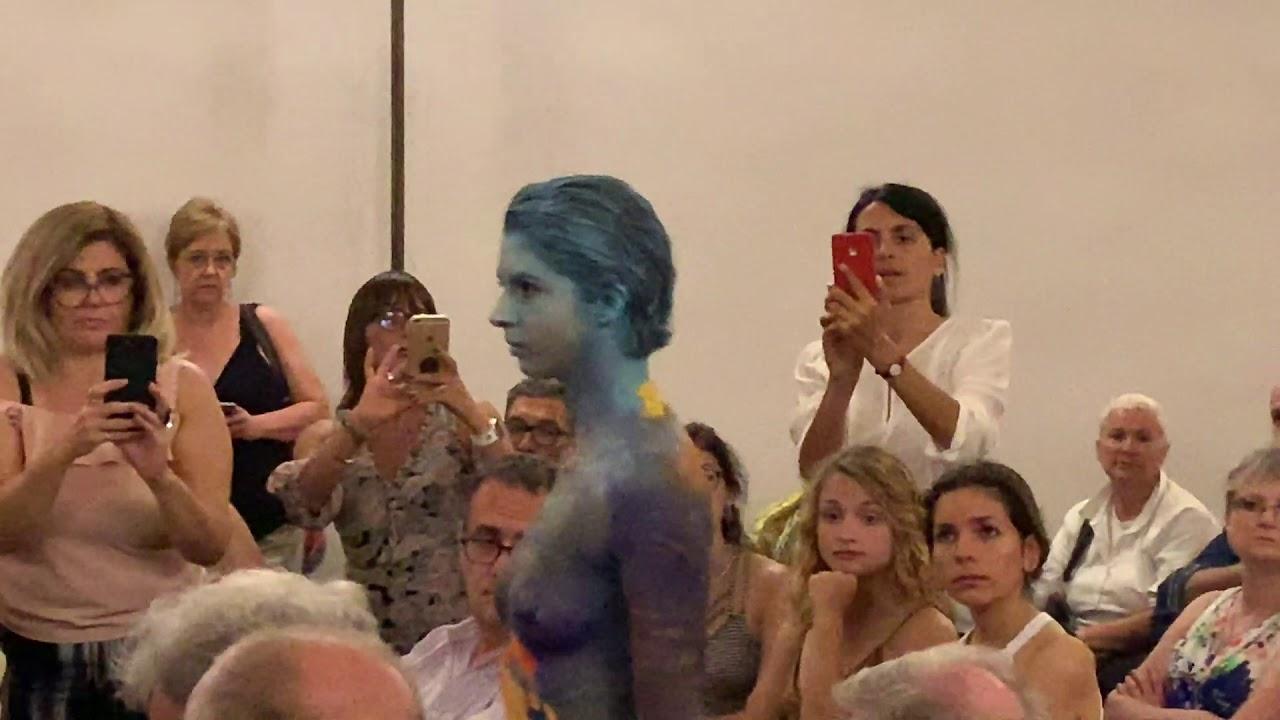 Video Body Painting đẹp nhất, tổng hợp vẽ lên cơ thể phụ nữ