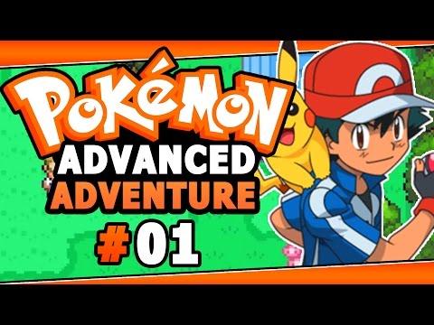 Pokemon Advanced Adventures Rom Hack Part 1 BLOOD THIRSTY RIVAL! Walkthrough Gameplay