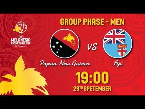 Papua New Guinea v Fiji - Full Games - FIBA Melanesia Basketball Cup 2017