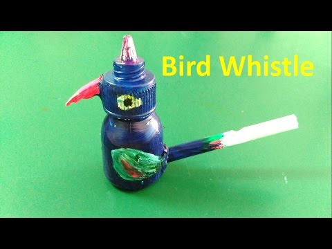 How To Make A Bird Whistle (water Whistle) At Home