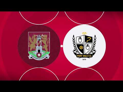Northampton Port Vale Goals And Highlights