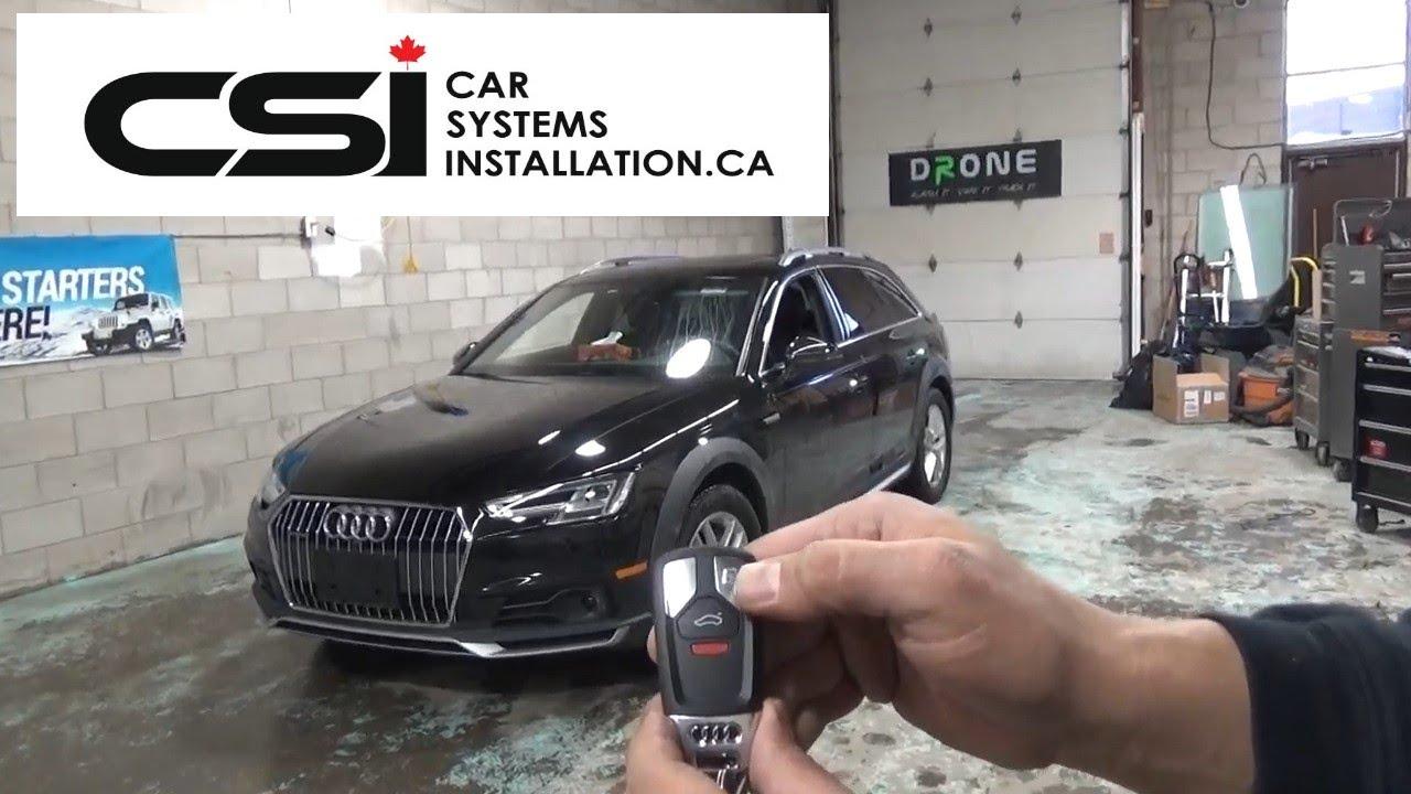 Audi A4 Allroad 2018 OEM Fob Remote starter