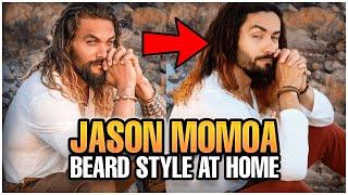 Jason Momoa Beard Style At Home - Lockdown Mode Insperation | The Best Beards 2021