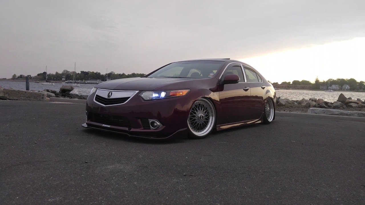 Acura Tsx Front Lip YouTube - Acura tsx lip