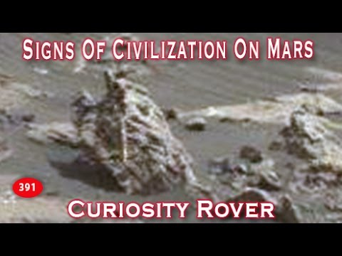 Strange Remains Of Martian Civilization At Gale Crater?