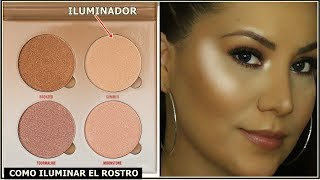 Como Aplicar Iluminador En El Rostro Donde Aplicar Iluminador De Maquillaje Youtube