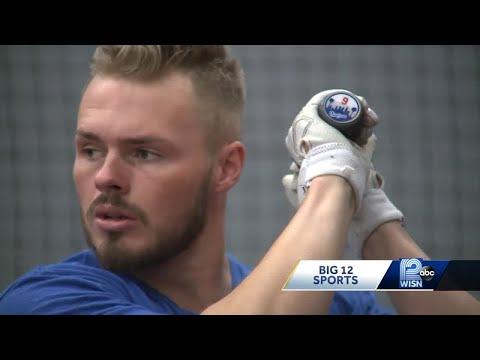 Gavin Lux Trains In Empty Hitters Baseball Academy During MLB Shutdown