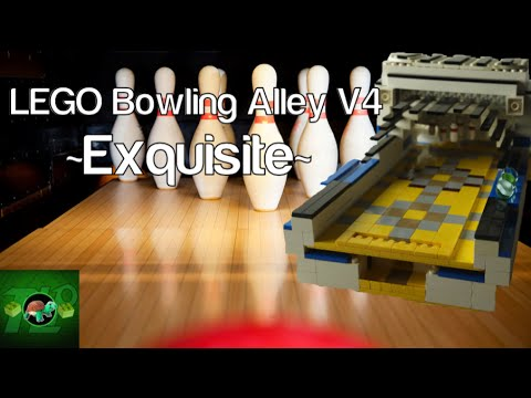 LEGO Bowling Alley V4 ~Exquisite~ +Power Functions - YouTube