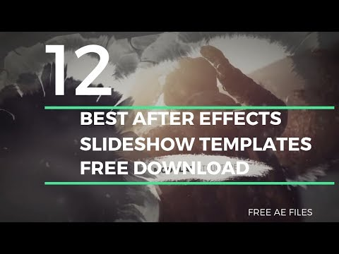 Free After Effects Slideshow Templates - After Effects Templates