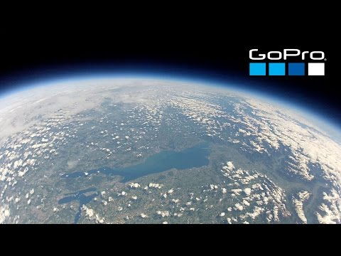 Weather Balloon Near Space! GoPro-Balloon-Flight to 30km!