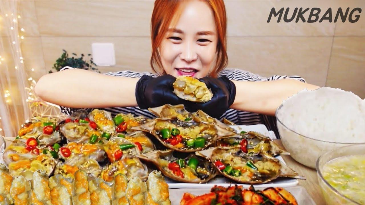 SUB) 알이 가득찬 간장게장 6kg 고봉밥 청양고추 비쥬얼 머선129 MUKBANG ASMR eating show