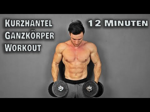 12 Minuten Kurzhantel Workout fr Zuhause! (Full Body)